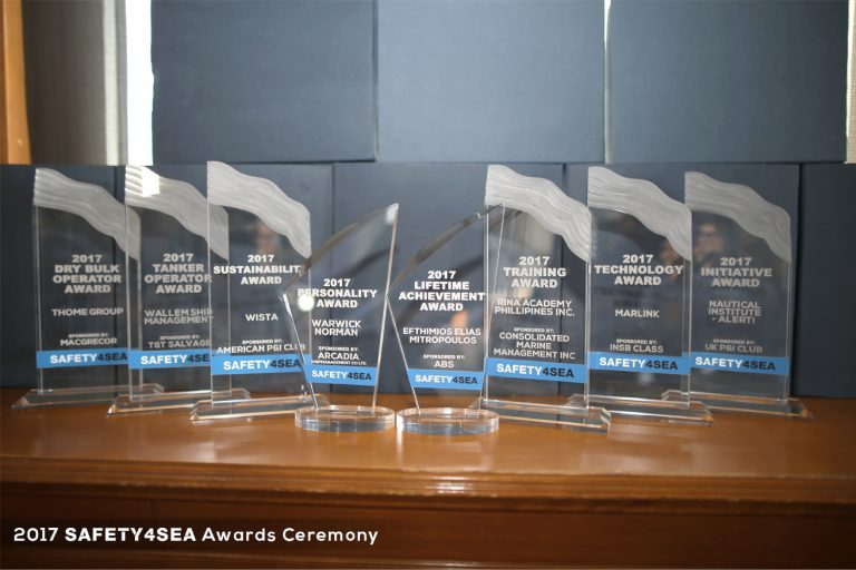 2017 SAFETY4SEA Awards - SAFETY4SEA Events